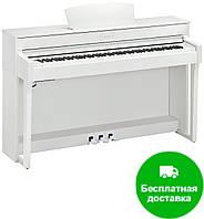 Цифровое пианино Yamaha Clavinova CLP-635WH (+блок питания)