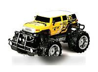 Машина аккумуляторная Toy Land 23588 радиоуправляемая (желтая)
