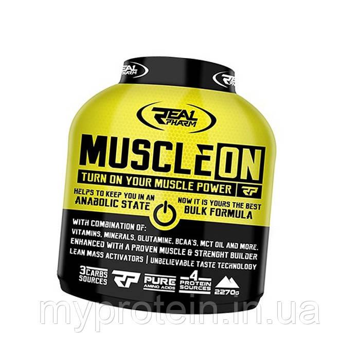 Real Pharm    гейнерReal Pharm Muscle ON 2,3 kg
