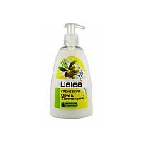 Жидкое крем мыло Balea Creme Seife Olive & Zitronengras 500 ml.