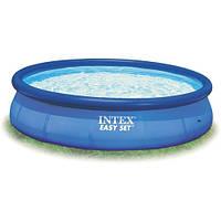 Семейный надувной бассейн Intex 28130 Easy Set (366x76 см) ZN