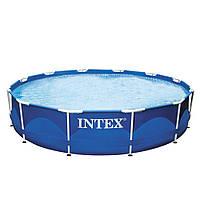 Каркасный бассейн Intex 28210 (56994) Metal Frame Pool 366x76 см