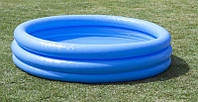 Детский надувной бассейн Crystal Blue Intex 58426 147Х33 см