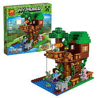 Конструктор Minecraft My World Lele 79350 Домик у реки