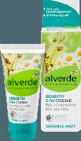 Alverde Дневной крем для чувствительной кожи Tagespflege sensitiv 24h-Creme Hamamelis Kamille