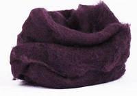Вовна для валяння кардочесана, С14, Фіолетова темна, 50 г, Margo