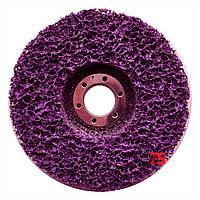 3М 05818 Scotch-Brite Clean&Strip XT-RD Purple™ - Зачистной круг на стеклопласт. оправке 115x22,24х13 мм