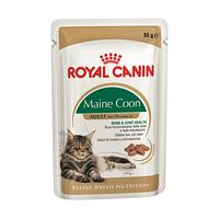 Пауч Royal Canin Adult Maine Coon для кошек породы Мейн Кун, кусочки в соусе, 85 г