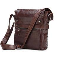Мужская сумка через плечо Jasper&Maine 7121C коричневая