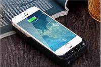 Чехол аккумулятор для iPhone 5/5s/se Черный и золотой