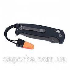 Нож туристический Ganzo (оранжевый, черный, зеленый) G7413-BK-WS, фото 2