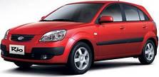 Чехлы на Kia Rio II Hatchback (2005-2011 гг.)