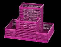 Прибор металевий сітка 3116 ZiBi рожевий