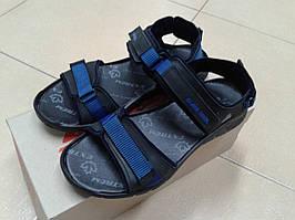 НОВИНКА! Удобные  мужские сандалии из натур. нубука EXTREM 103