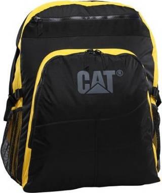 Рюкзак большой туристический на 180 л. CAT PM Giant Backpack, 82408;12 черный с желтым