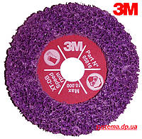 3М™ 05816 Scotch-Brite™ Clean&Strip XT-DB Purple™ - Зачистной круг 115 x 22,24 х 13 мм