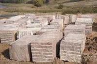 Гранитные блоки Токовского месторождения.Гранит от производителя.