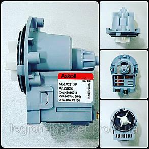Насос (помпа) на 3 самореза Askoll M231XP 40W для стиральной машины, фото 2