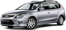 Чехлы на Hyundai I 30 SWagon (с 2008 года до этого времени)