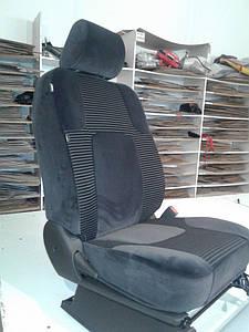 Чехлы на сиденья Nissan Navara Авточехлы из ткани