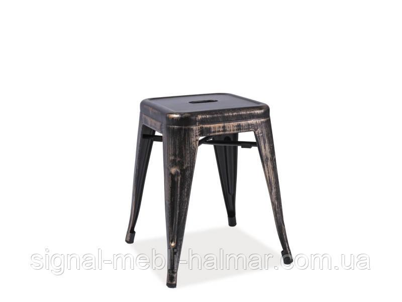 Купить кухонный стул Spot signal (черный потертый)