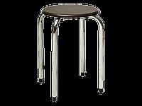Купить кухонный стул Taboret signal (темно коричневый+хром)