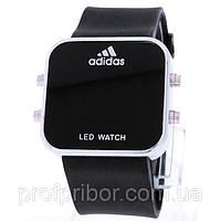 Наручные часы Adidas Led Watch, часы лед воч копия