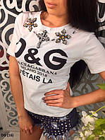 Женская футболка DG