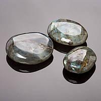 Камень Сувенир Лабрадор галтовка (разный вес и размер на выбор)