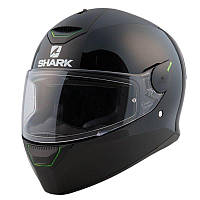 Мотошлем Shark Skwal Dual Black черный c полосой, L