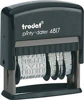 Датер пластиковий Trodat Trodat 4817  4 мм.