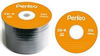 Диск CD-R Perfeo 700MB 52x Bulk 50