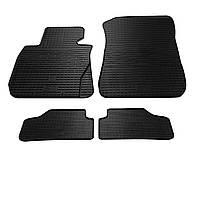 Комплект резиновых ковриков Stingray для автомобиля  BMW 1 (E82) 2004-   4шт.