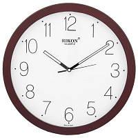 Годинник настінний  Rikon 1751 Черв./Чорний