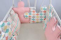 Постельный комплект Pink (пазлы)