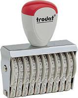 Нумератор стрічковий  Trodat 1556 6-ти розрядний 5 мм.