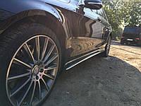 Боковые пороги Mercedes W222 в стиле AMG S63 S65