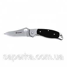 Нож универсальный Ganzo (черный, оранжевый) G7372-BK, фото 3