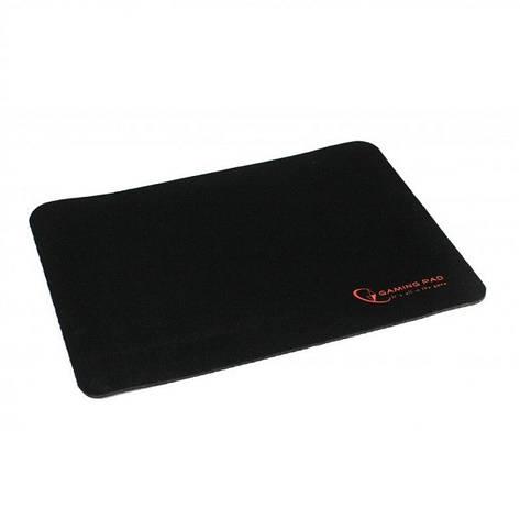 Игровая поверхность Gembird, MP-GAME-L, ткань, черный цвет, фото 2