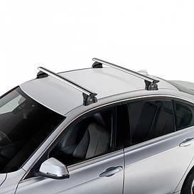 Аэродинамические алюминиевые поперечины Hyundai Tucson 5d (III - integrated railing) 2015- Cruz Airo