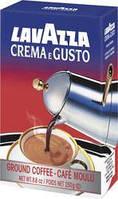 Кава  Lavazza 250г мелена Crema e Gusto