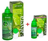 Раствор для линз Avizor Alvera 350 мл + 60 мл в подарок!