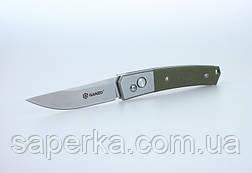 Ніж кишеньковий Ganzo (чорний, зелений, камуфляж) G7362-BK, фото 3