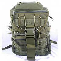 Рюкзак 35 л с клапаном олива