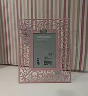 Фоторамка свадебная 10х15 розовая