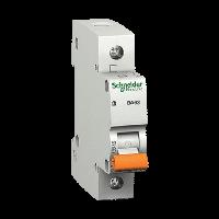 Автоматический выключатель BA63 1P 6A C, Schneider Electric