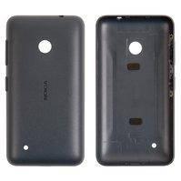 Задняя панель корпуса для мобильного телефона Nokia 530 Lumia, черная, с боковыми кнопками
