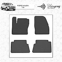 Комплект резиновых ковриков Stingray для автомобиля  Ford Kuga 2013-2016     4шт.