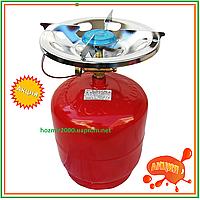 Горелка газовая с баллоном 8 л  Rudyy RK-3 Туристический 2,5 кВт горелка для рыбаков туристов