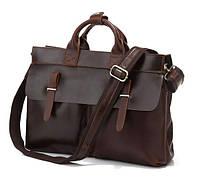 Мужская сумка TIDING BAG 7107R коричневая